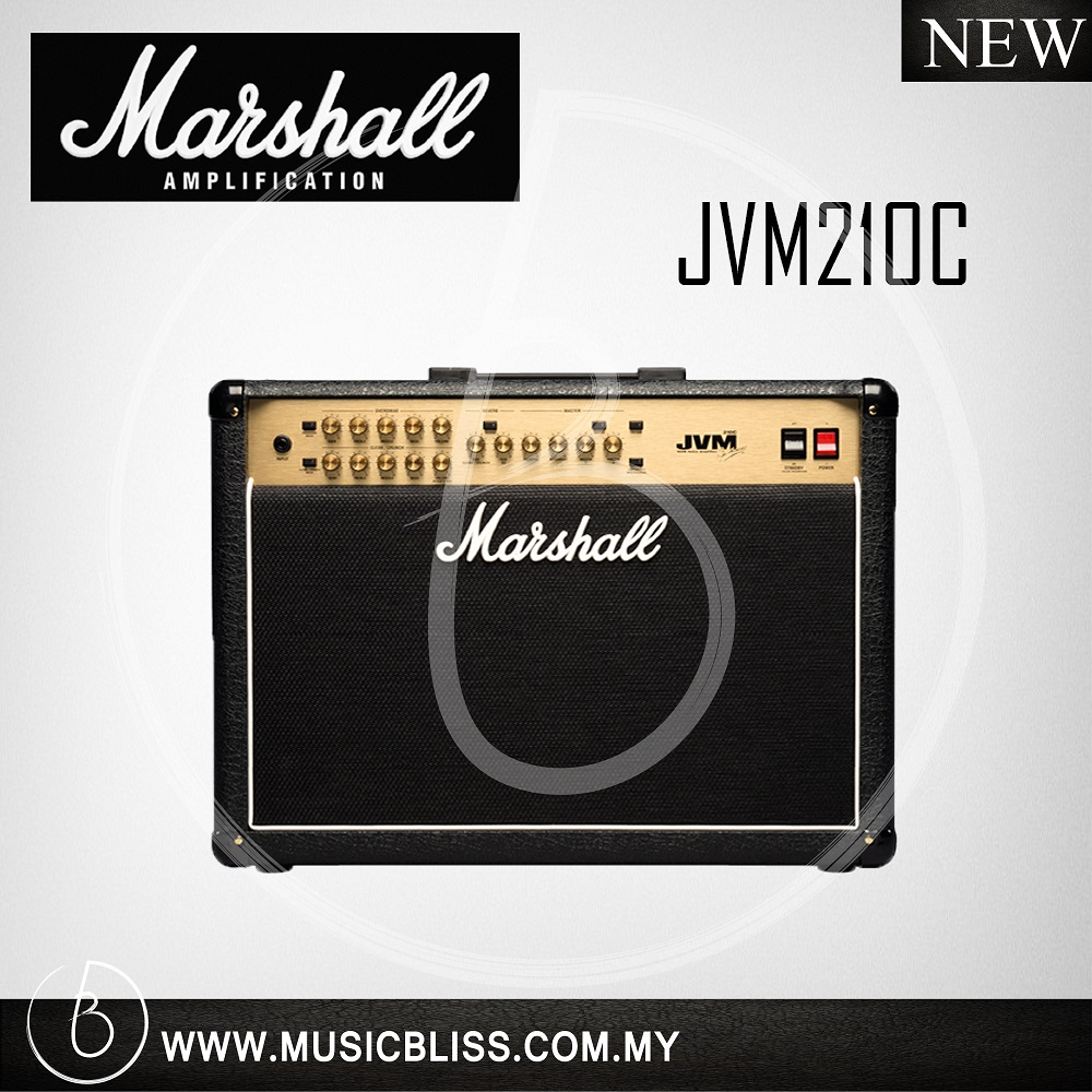 Marshall Jvm210c 100 Watt 2x12 2 Ch End 4 19 2021 1200 Am Amplifier Channel Tube Guitar Combo