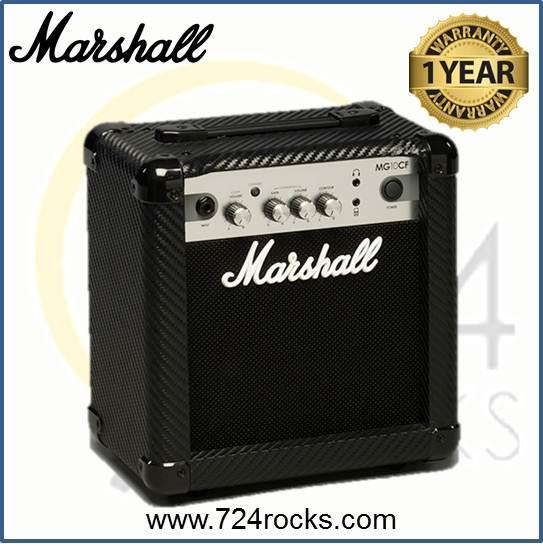 Marshall MG10CF Carbon Fibre Series 10W Combo Guitar Amplifier