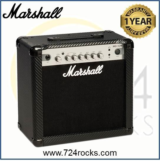 Marshall MG15CFR Carbon Fibre Series 15W Combo Guitar Amplifier