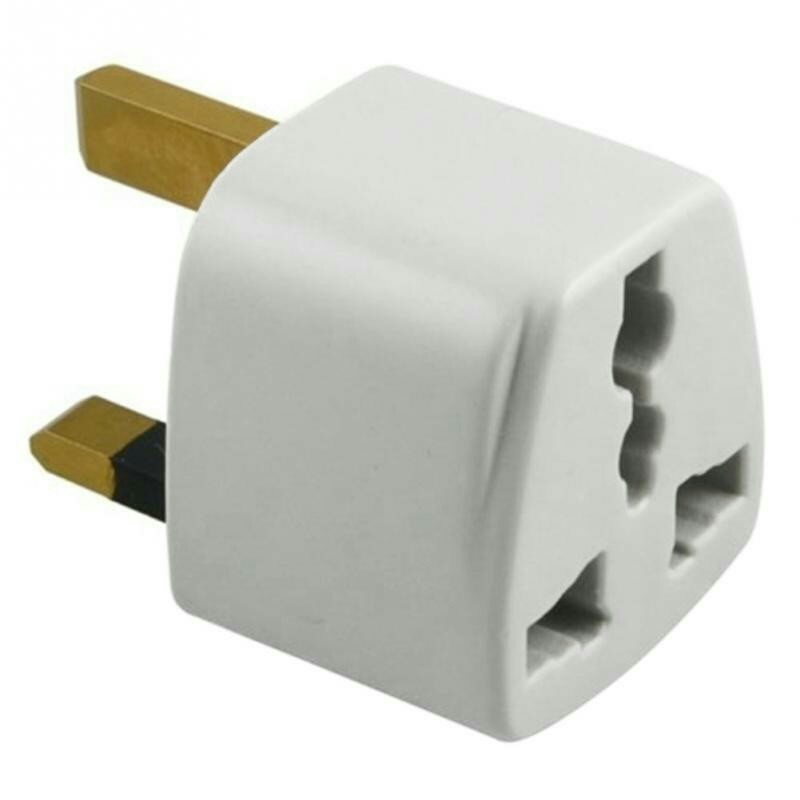MARTECH UK 3PIN AC POWER PLUG UNIVERSAL TRAVEL ADAPTER