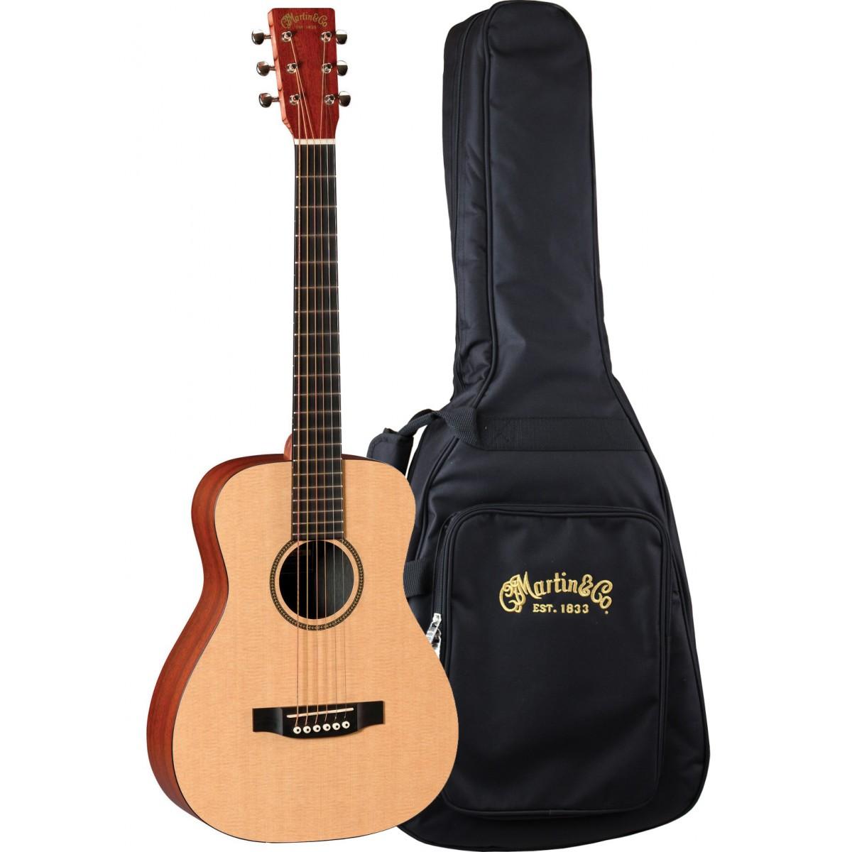 Martin Semi Acoustic Guitar Lx1e Little Martin With Padded Gig Bag