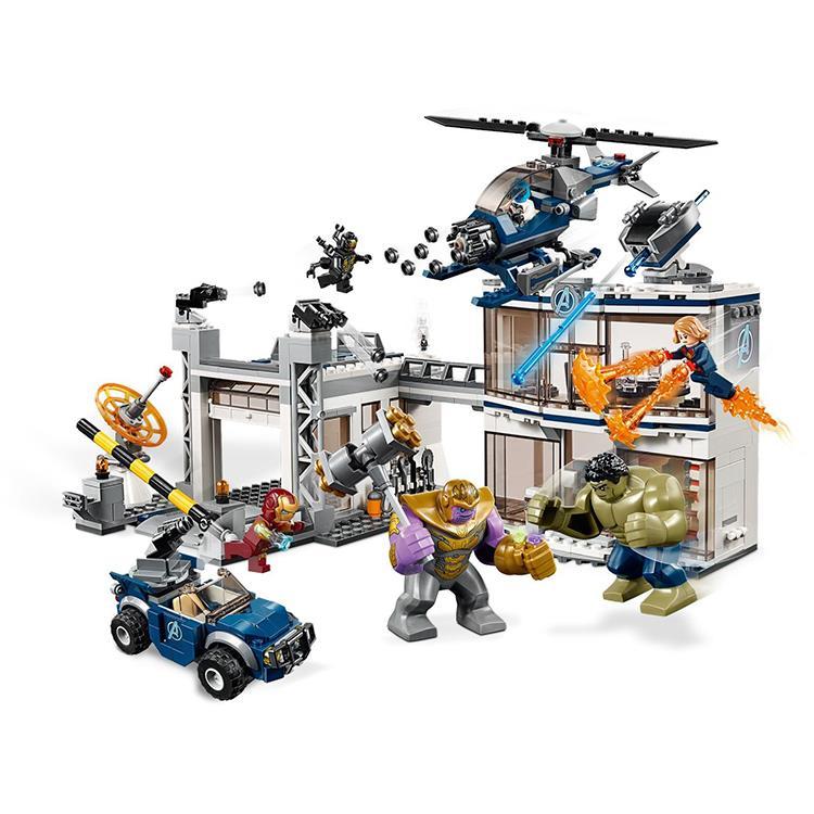 MARVEL AVENGERS ENDGAME 76131 AVENGERS COMPOUND BATTLE LEGO COMPATIBLE