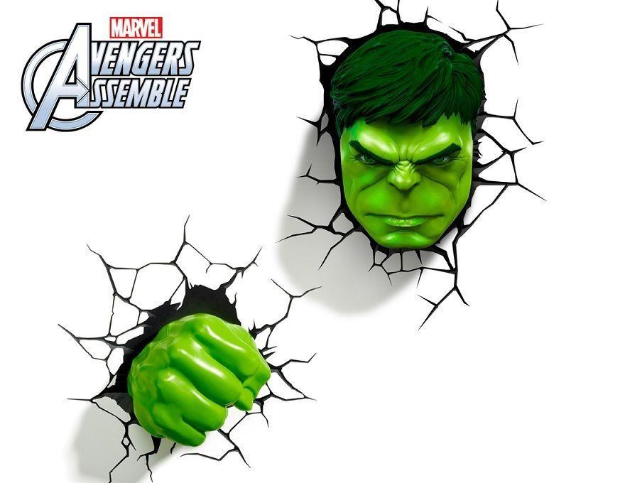 Marvel avengers hulk head 3d deco wa end 3272019 555 pm aloadofball Image collections
