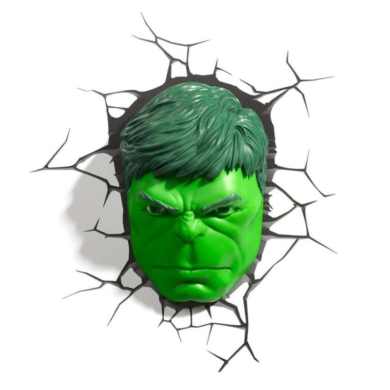 Marvel Wall Lights Hulk : Marvel Avengers HULK Head 3D Deco Wa (end 3/27/2018 5:55 PM)