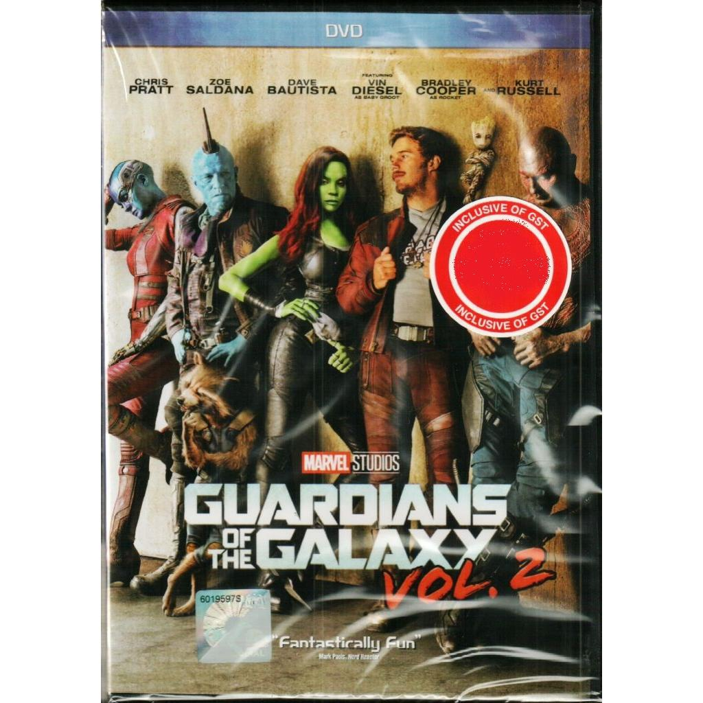 Marvel Guardians of The Galaxy Vol 2 DVD