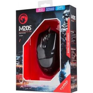 Marvo Optical M205 Gaming Mouse (1600 dpi,6 buttons,3 million click)