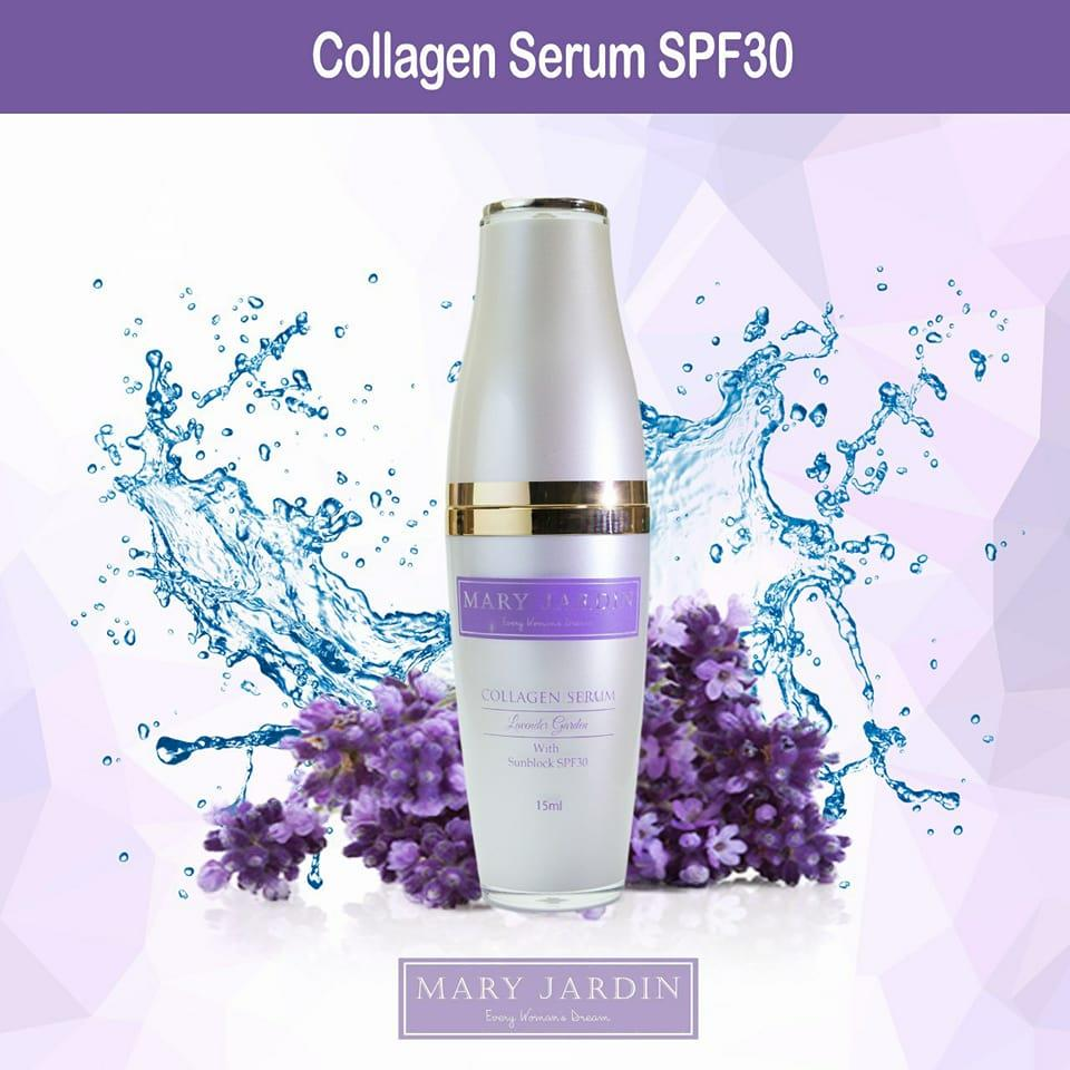 Image result for face collagen serum mary jardin