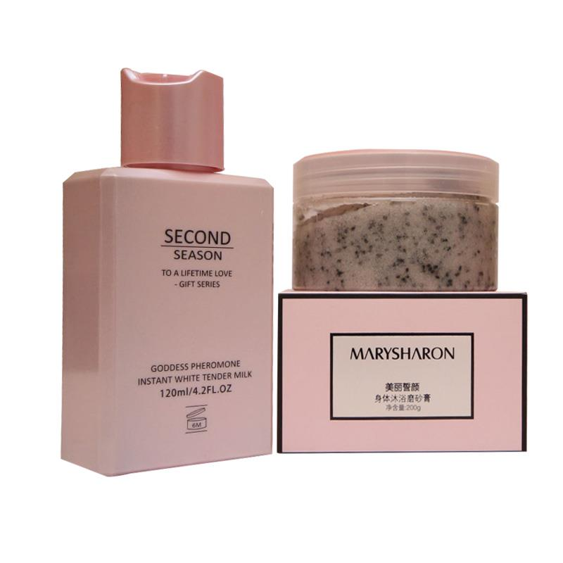 MARYSHARON LIFTING BODY SCRUB + GENTLE LIFTING LOTION (COMBO)
