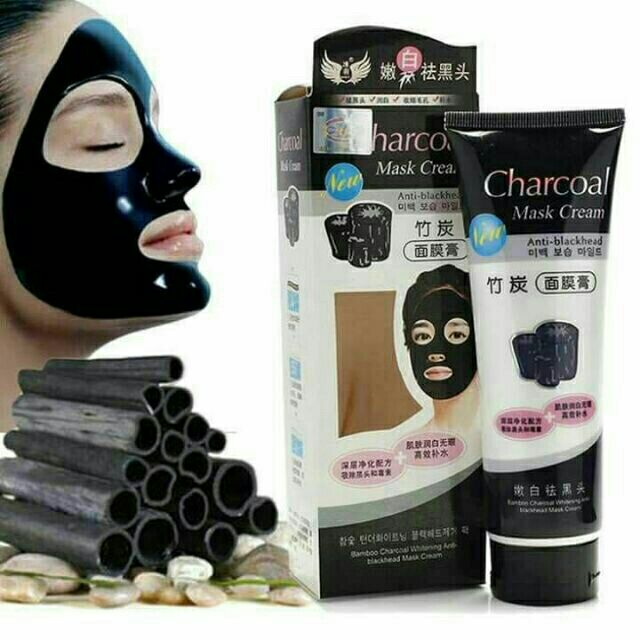 Mask Charcoal Cream (Ready Stock)