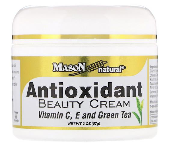 Mason, Antioxidant Beauty Cream with Vitamin C, E, and Green Tea (USA)