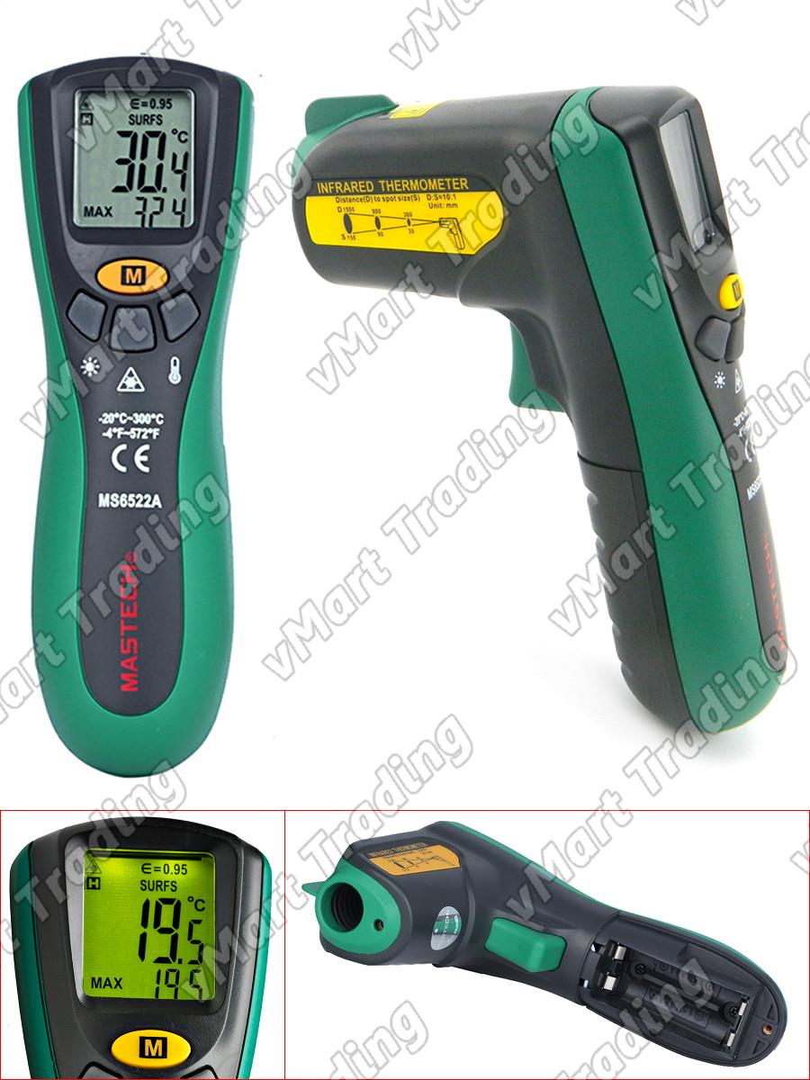 Mastech MS6522A Industrial Non-Contact Infrared Thermometer