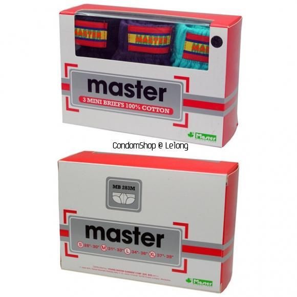 MASTER Mini Briefs MB283M(3 pieces)