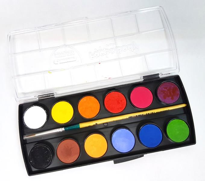 MASTERART Face & Body Paints12Colours