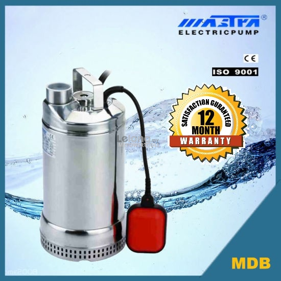 Mastra MDB 550W Auto Stainless Steel Submersible Sewage Pump