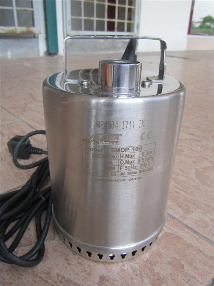 Mastra SMDP 100W Stainless Steel Submersible Pump