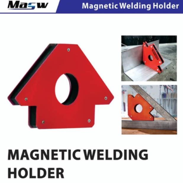 MASW MAGNETIC WELDING ANGLE HOLDER - 25LB (2PCS/PKT)