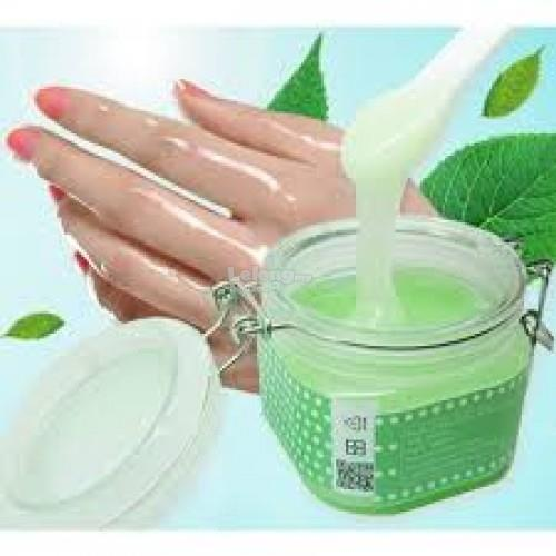 Matcha Milk Hand Wax with free spoon (TANPA KOTAK PACKAGING)