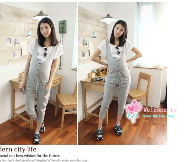 Maternity Jumpsuits Playsuits Casual Pants Maternity Overalls YF0071