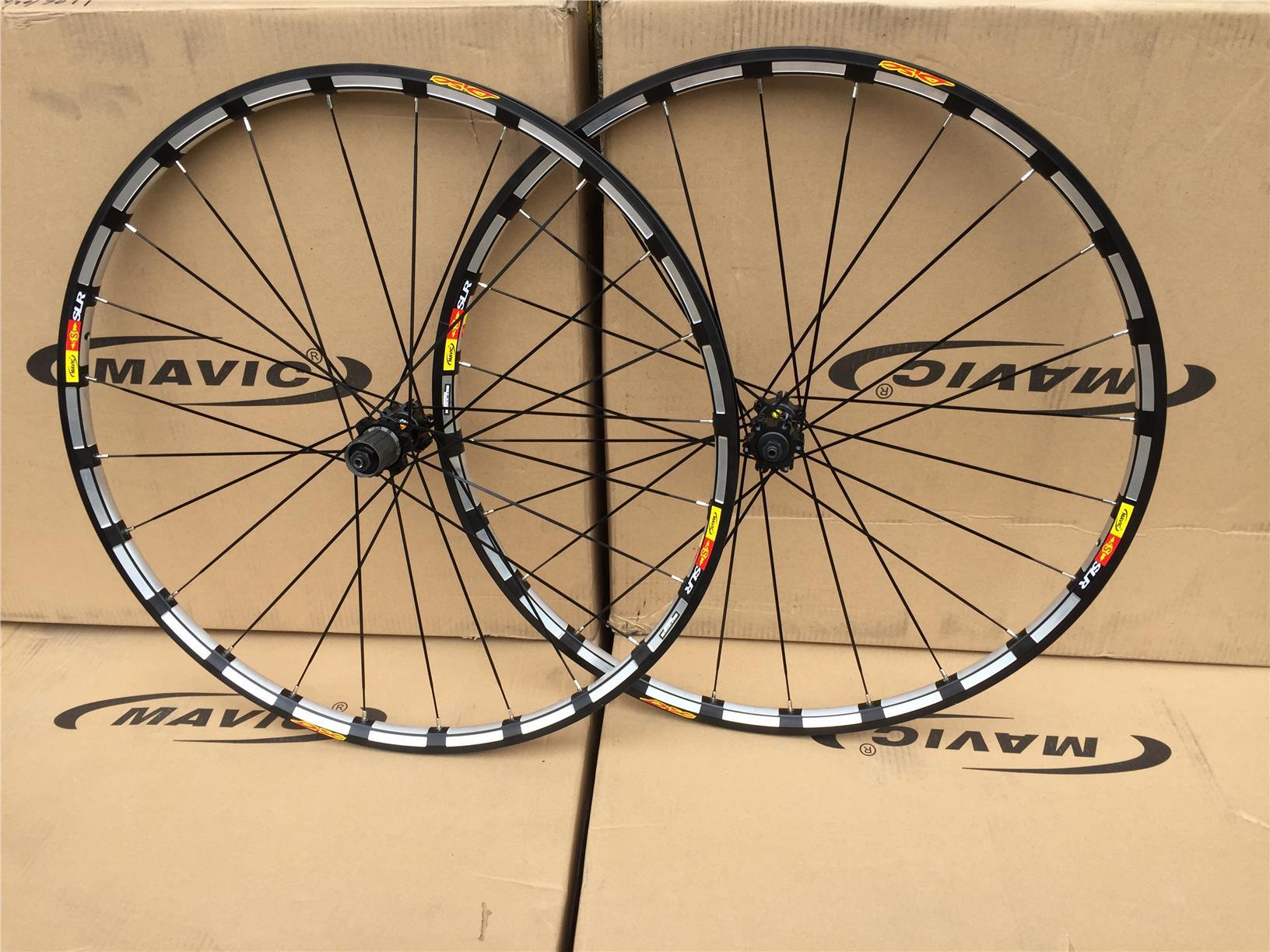 "b40664d441d Mavic Crossride wheelset 26"" 27.5"" (end 12/25/2020 3:15 PM)"