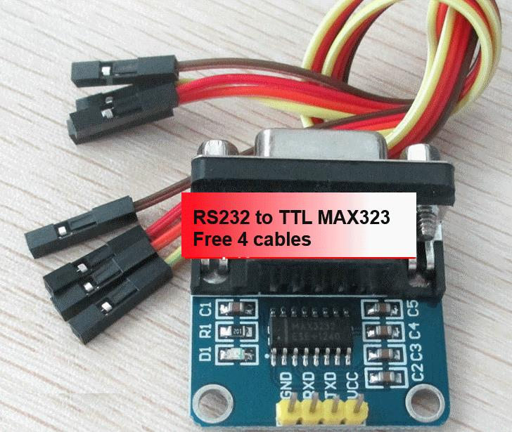 Max3232 RS232 to TTL converter Free 4 Cables