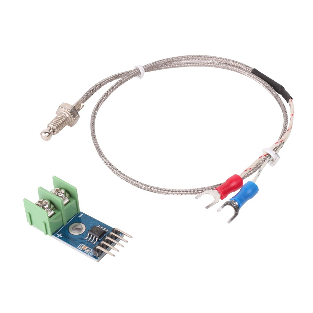 MAX6675 Module + K Type Thermocouple Sensor can measure 1024 degree