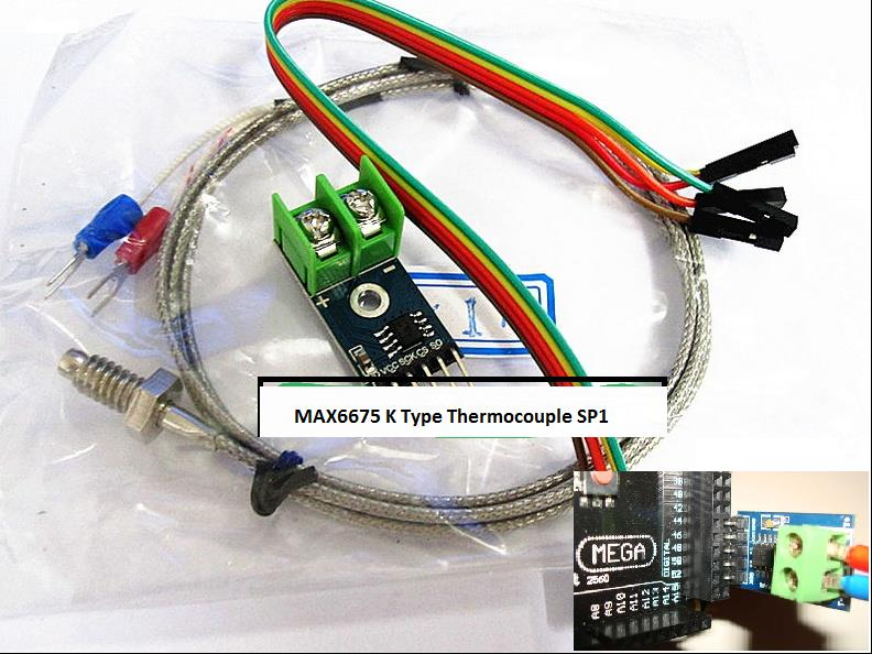 MAX6675 Module + K Type Thermocouple Thermocouple Sensor for Arduino
