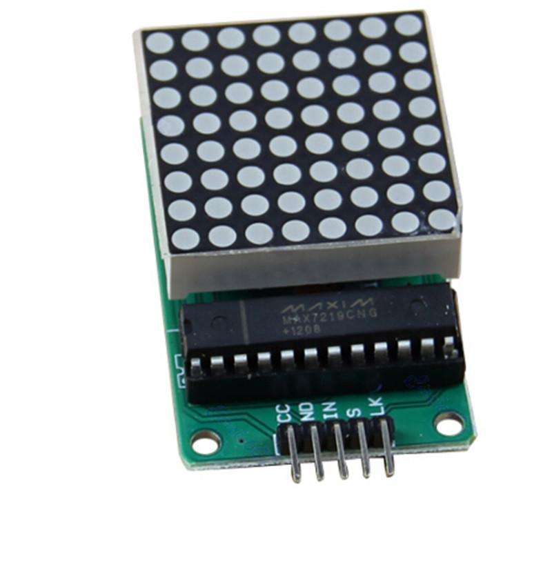 MAX7219 Dot LED Matrix Display Module for Arduino