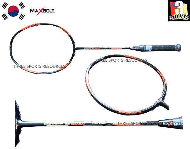 MAXBOLT Superstar B2 Red Badminton Racket