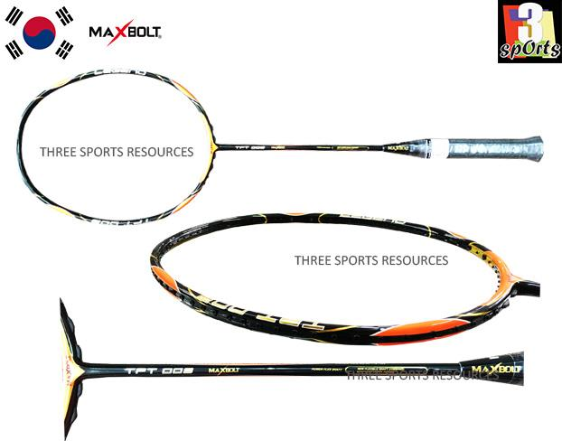 MAXBOLT TPT 009 Orange Badminton Racket
