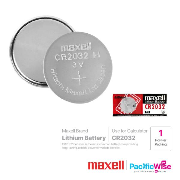 Maxell Battery CR2032 (1pcs)