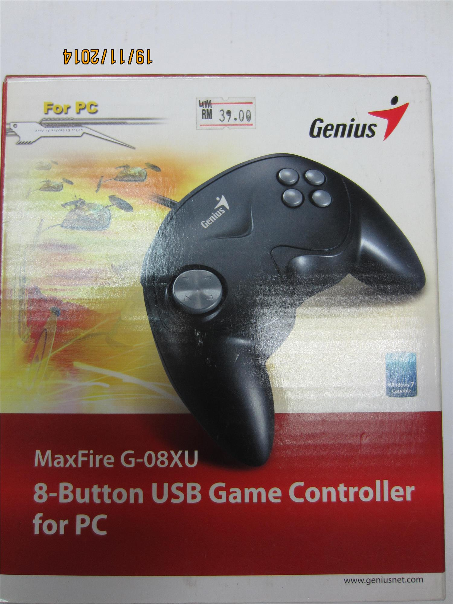 MAXFIRE G-08XU DRIVERS FOR WINDOWS VISTA