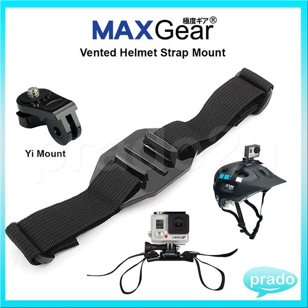 MAXGear Vented Helmet Strap Mount A (end 10/2/2018 11:26 AM)