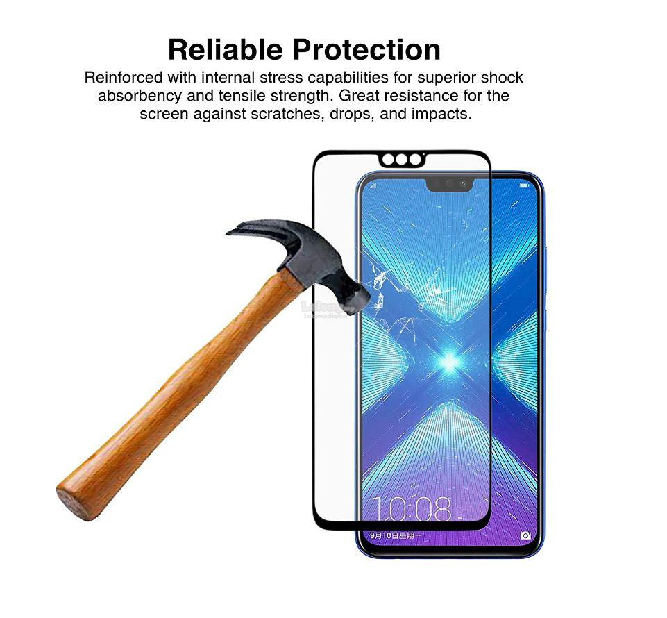 MAXGUARD - Huawei Honor 8X 2 5D Full Cover Curved Tempered Glass