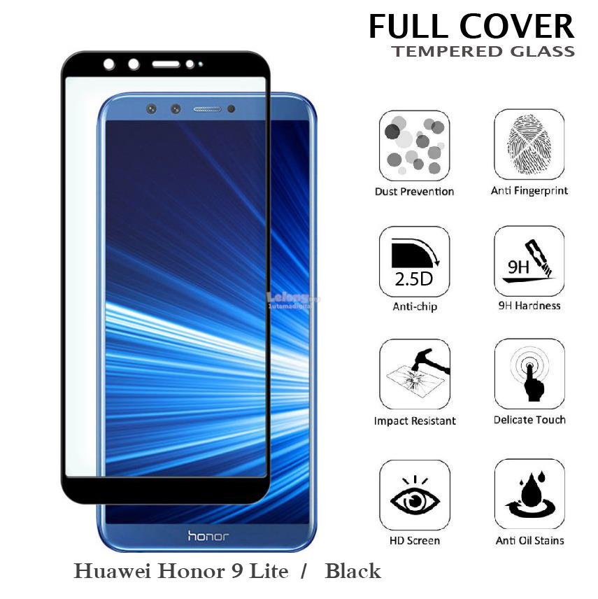 best service 9d929 c5ba7 MAXGUARD~Huawei Honor 9 Lite 2.5D Full Cover Curved Tempered Glass