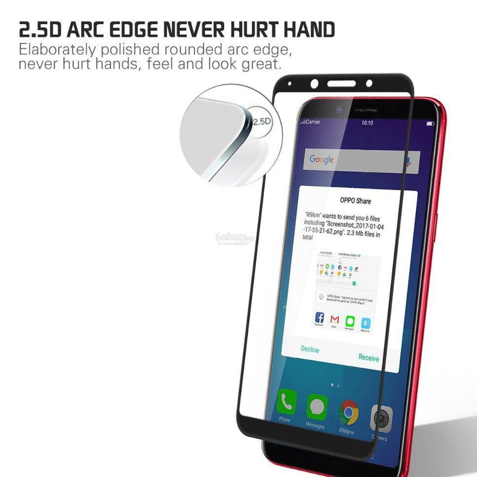 MAXGUARD - OPPO F5 2.5D Full Cover Curved Tempered Glass
