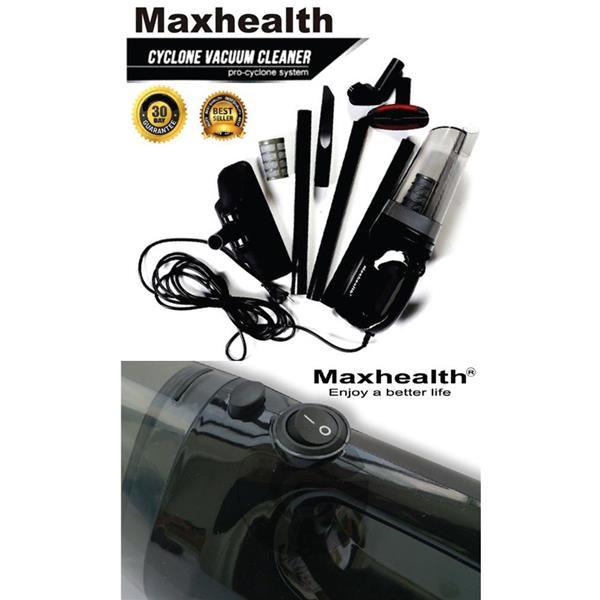 Maxhealth Cyclone Vacuum Cleaner Handheld Bagless 350W For Home Room