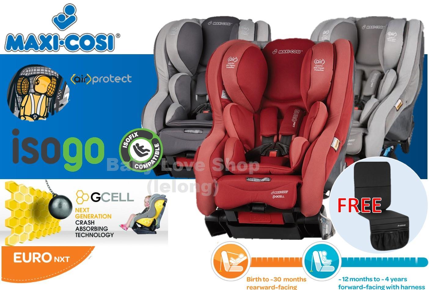 Maxi Cosi Cabriofix Car Seat Replacement Cover Red