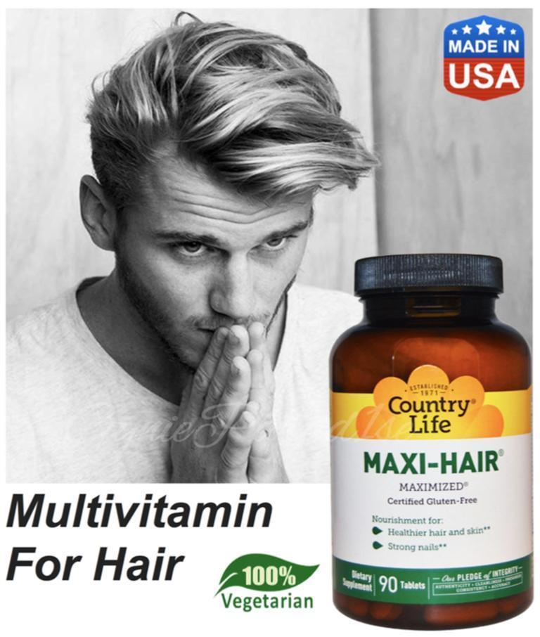 Maxi-Hair Maximized Biotin, Hairloss, 100% Vegetarian, Made In USA