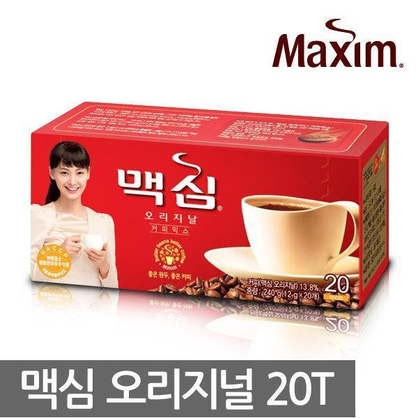 Maxim instant Coffee Mix Original 20 Sticks, Korean coffee. ‹ ›