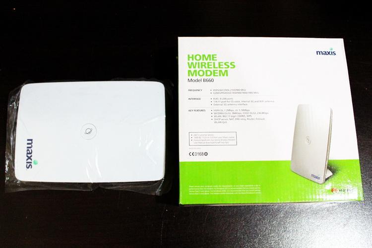 MAXIS HUAWEI B660 HSDPA 3G MODEM LAN Bband WIFI,GSM,SMS,FIXED LINE