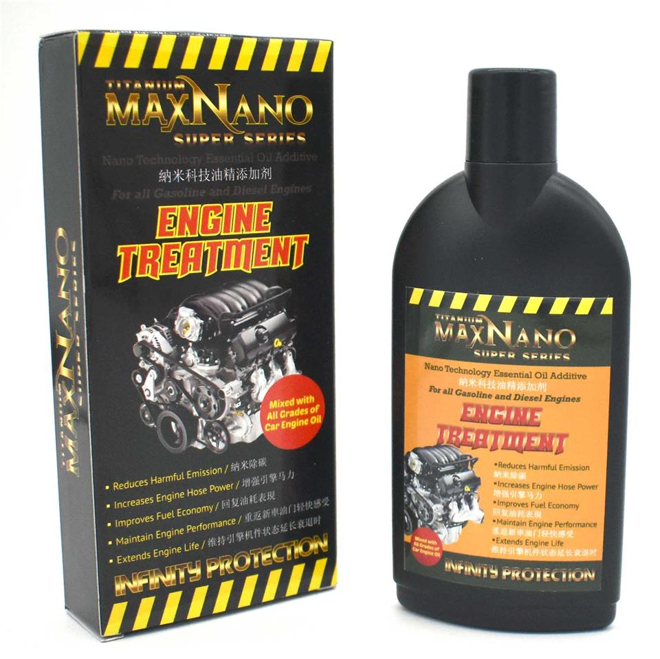 MaxNano Engine Oil Treatment Power Plus Booster Fuel Saver Technology
