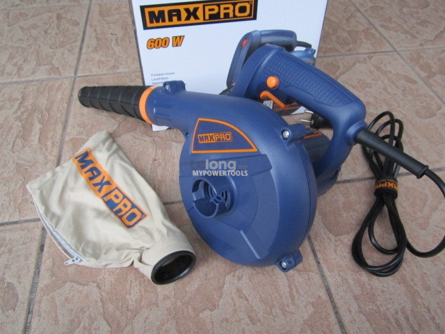 Maxpro 600W Electric Portable Blower and Vacuum