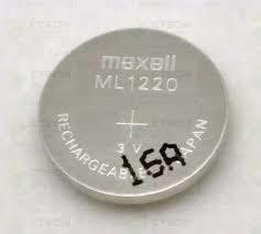 MAXWELL Rechargeable Battery CMOS Button Cell 3V ML1220 (no terminal)