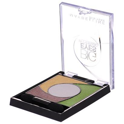 Maybelline Eye Shadow Quad Big Eyes By Eye Studio 02 Luminous Grass