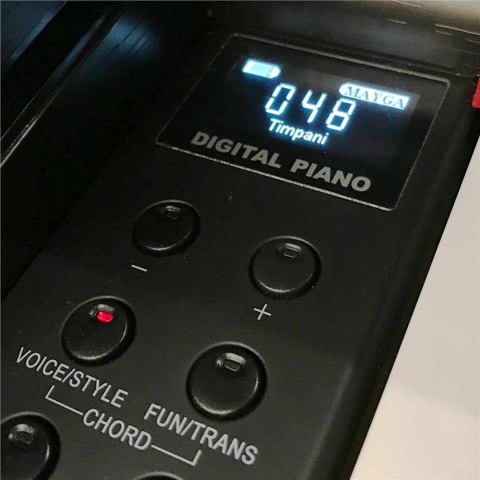 mayga mh 27 88 keys digital piano end 6 15 2020 11 21 am. Black Bedroom Furniture Sets. Home Design Ideas