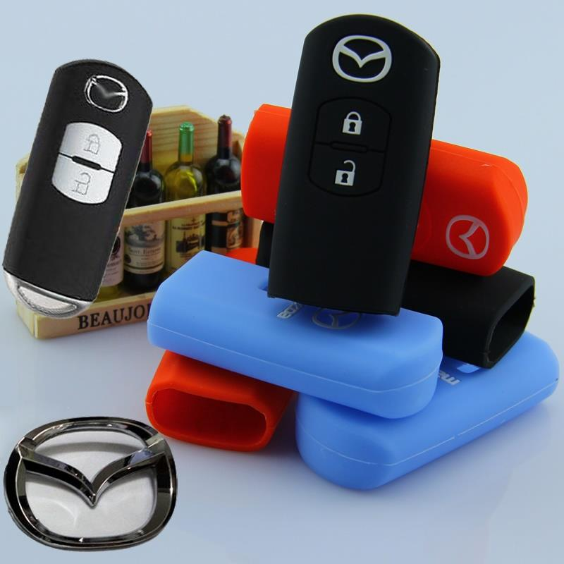 Mazda 2 CX5 Keyless Remote Silicone Car Key Cover Case(For Push Start)