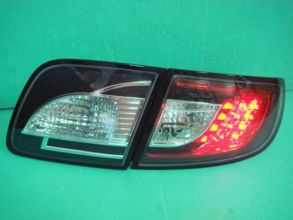 MAZDA 3 '05-'08 Black Housing LED Tail Lamp [2010 Look]