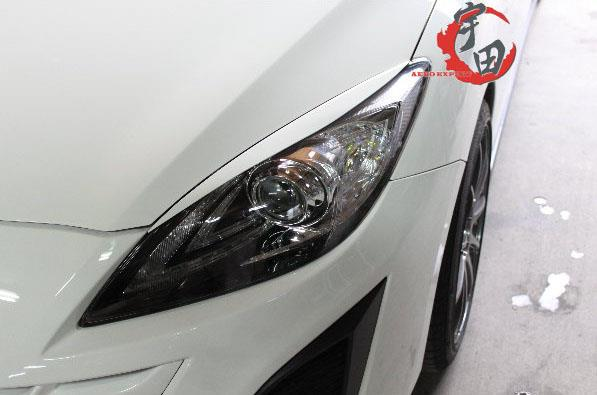 Mazda 3 08-13 A Style Head Lamp Eyelids