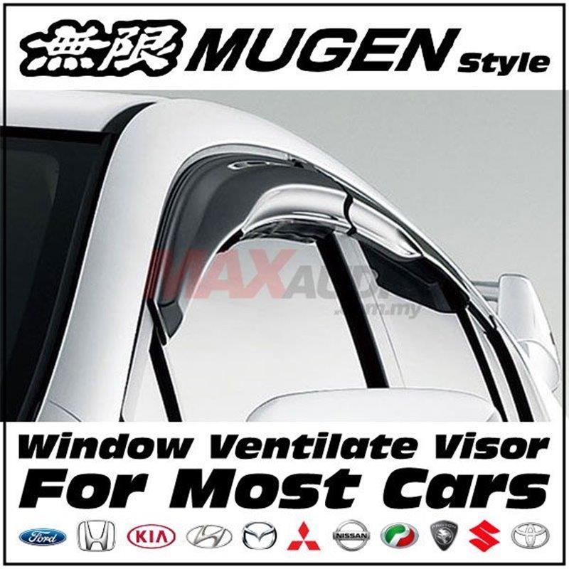 MAZDA 3 Mugen Style Premium Quality Door Visor