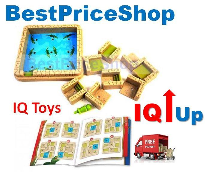 Maze Adventure IQ Enhancing Games Toy - Educational Smart IQ Toys